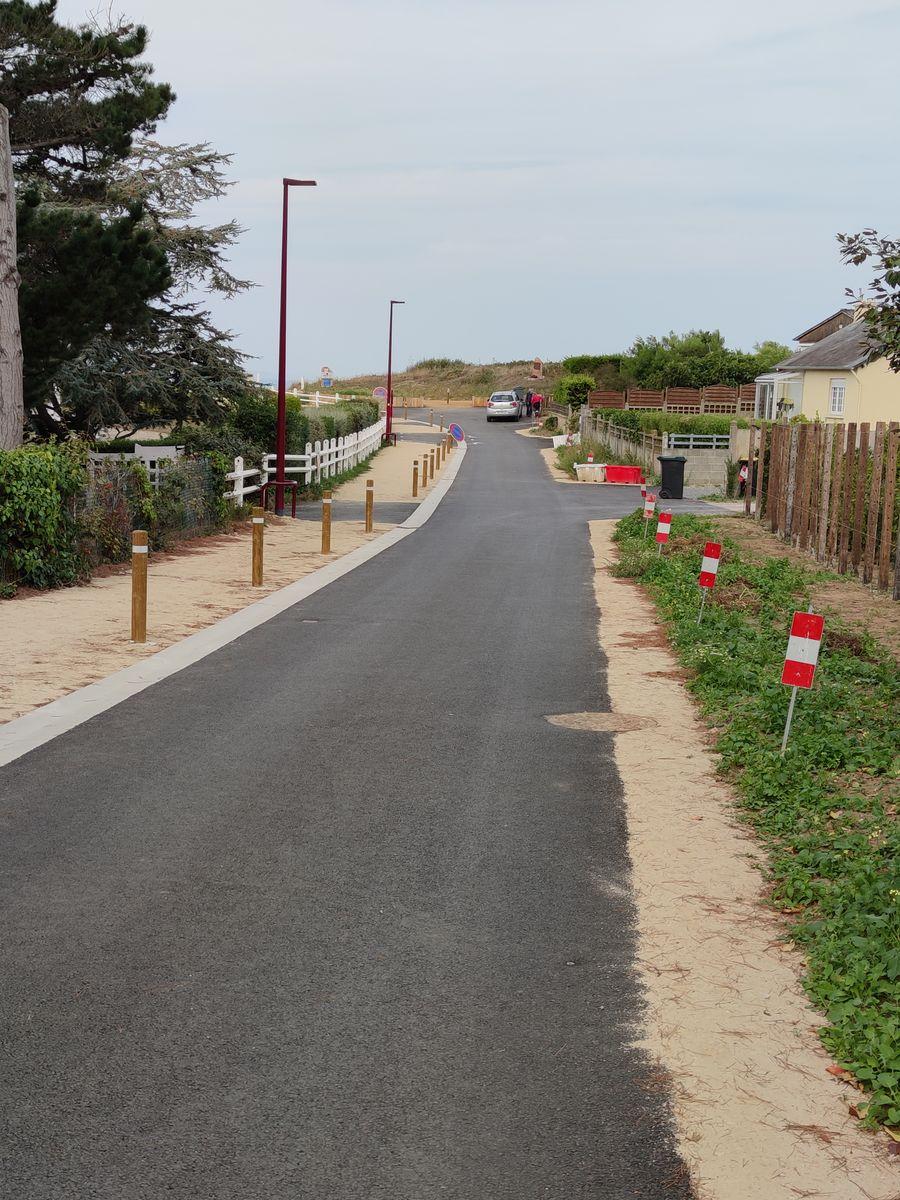 Atelier INEX - Travaux de requalification accès littoral La cotentin