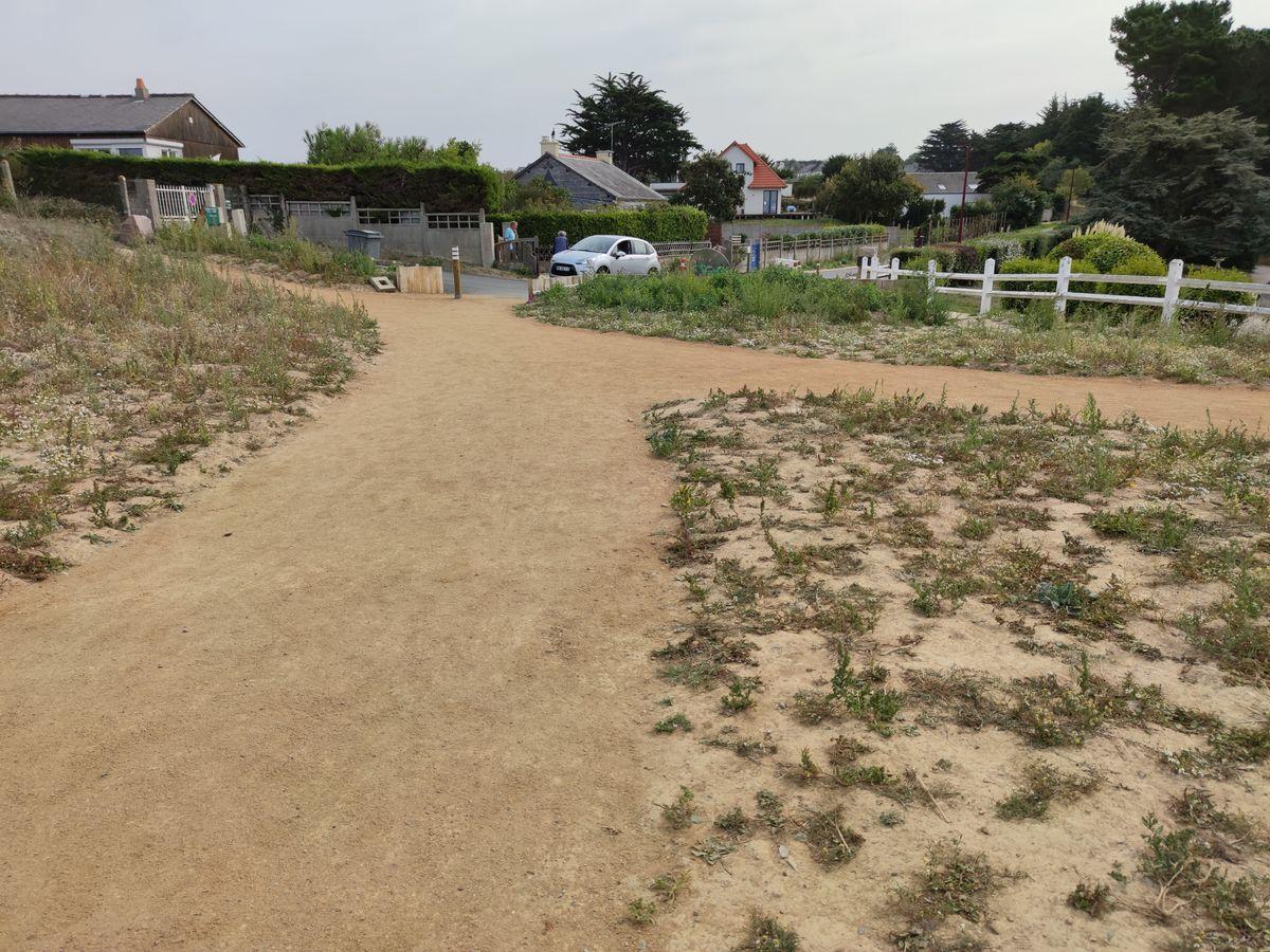 Travaux de requalification accès littoral La cotentin - Atelier INEX