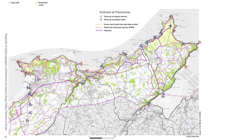 Charte paysagère- Carte synthèse diagnostic