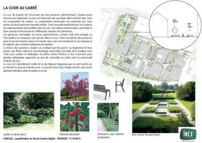 Esquisse Atelier INEX - Requalification du site de l'ancien hôpital de Cancale
