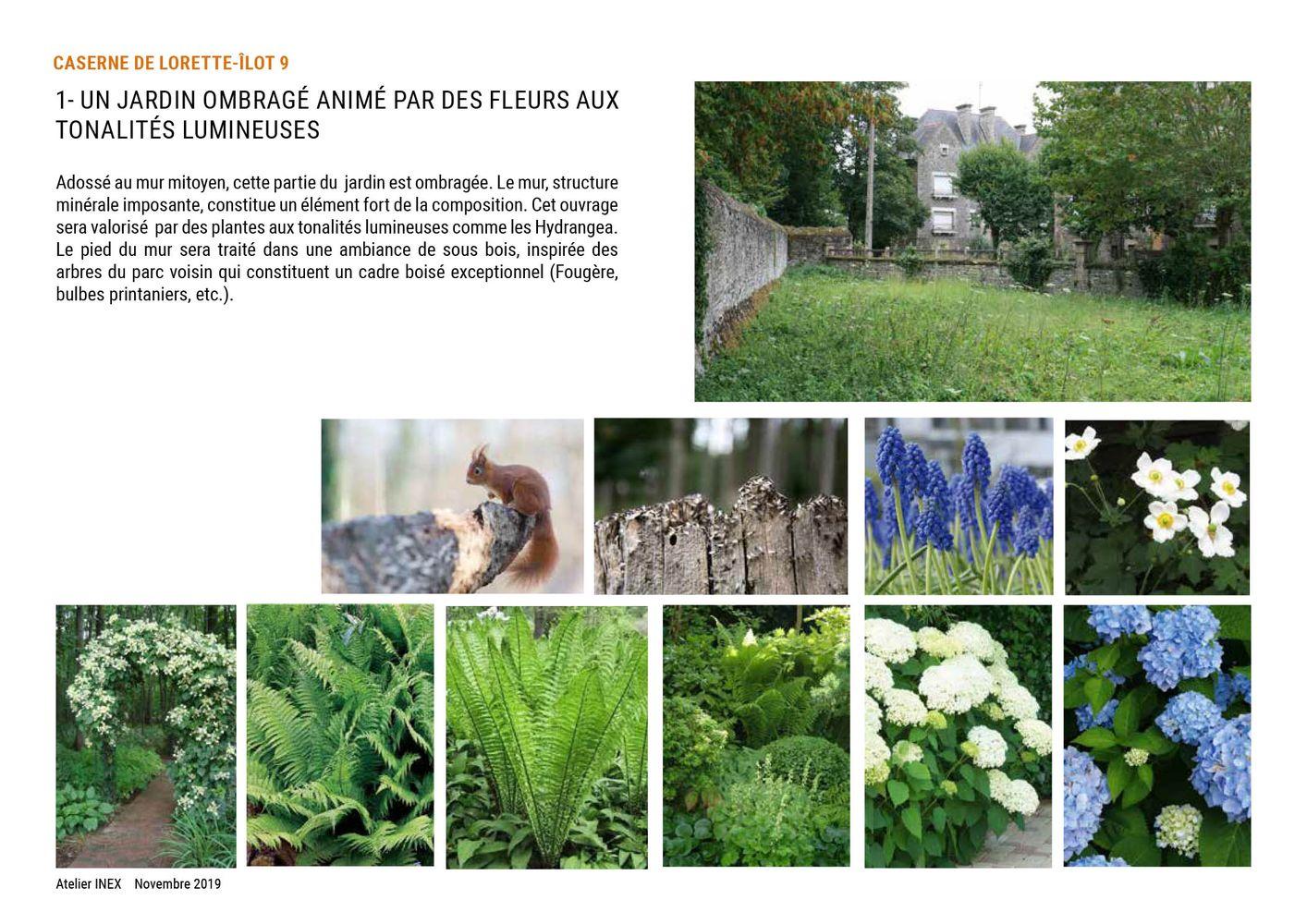 A l'échelle du quartier - Concevoir des projets - Un jardin Caserne de Lorette