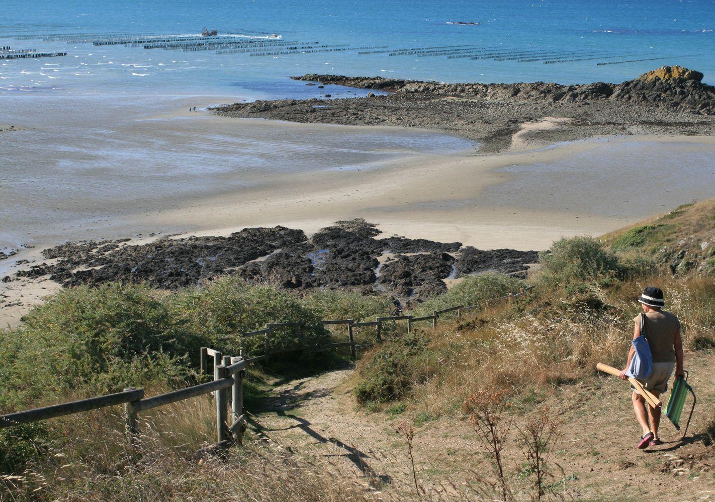 Accès plage de La Cotentin - Atelier INEX