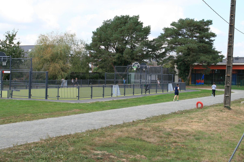 Aménagements sportifs de Saint-Aubin-du-Cormier