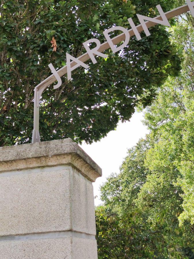 Entrée jardin public de Lamballe - Atelier INEX