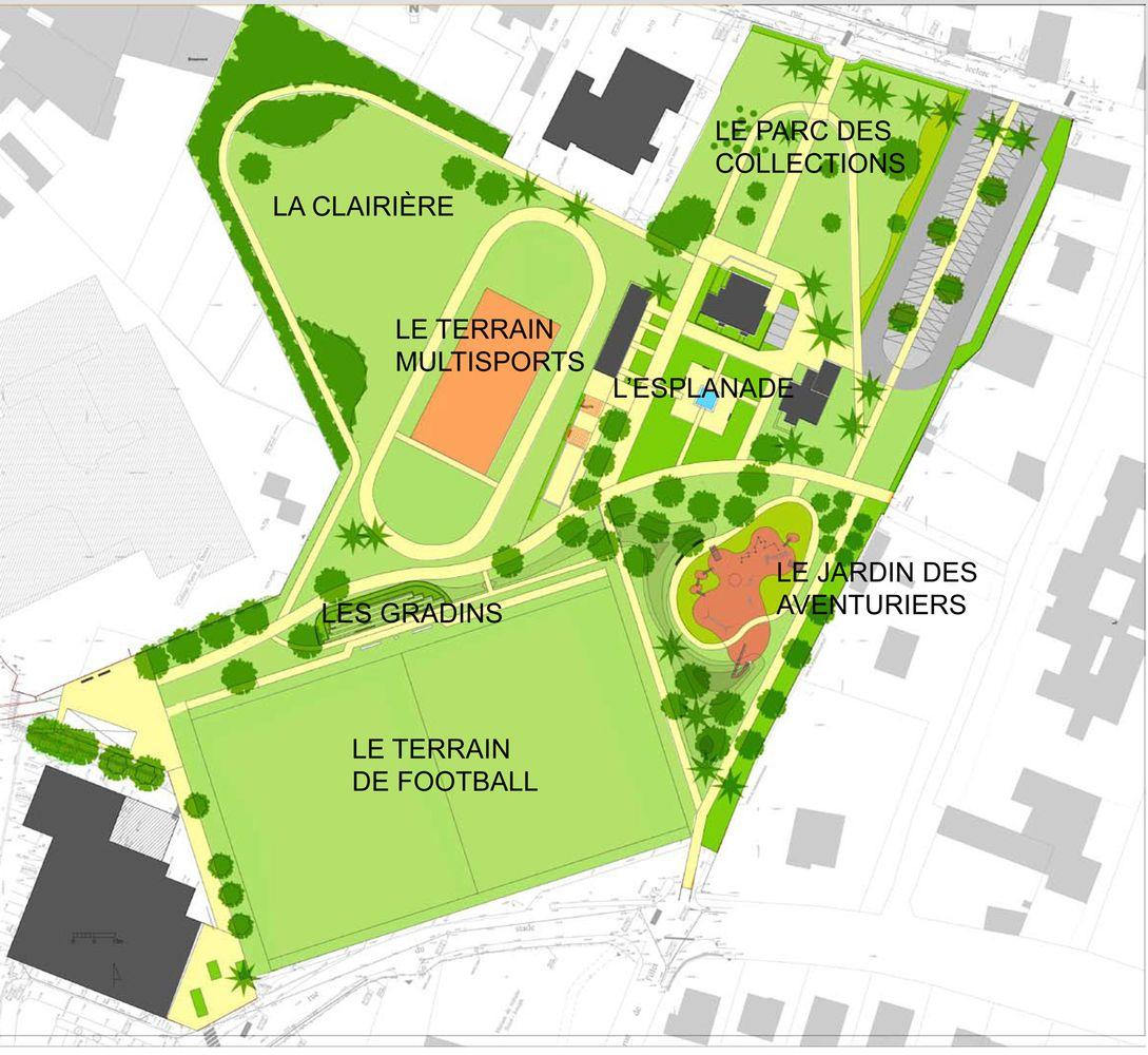 Plan d'aménagement Saint-Aubin-du-Cormier
