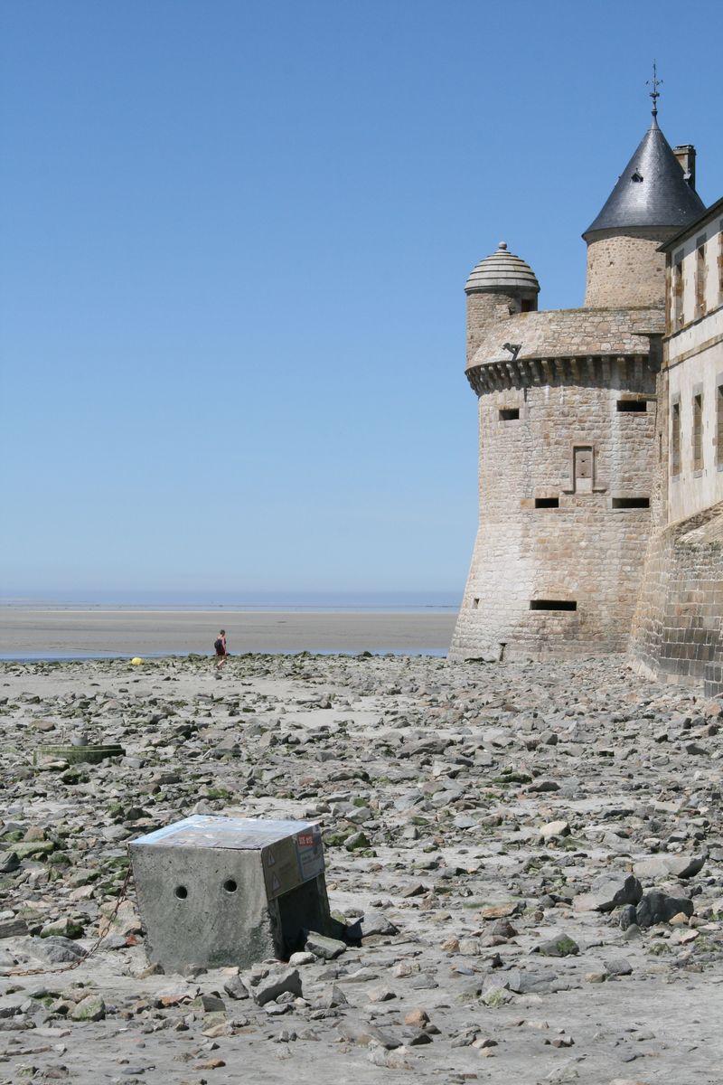 Traversées de la Baie arrivée du Mont-Saint-Michal - Atelier INEX